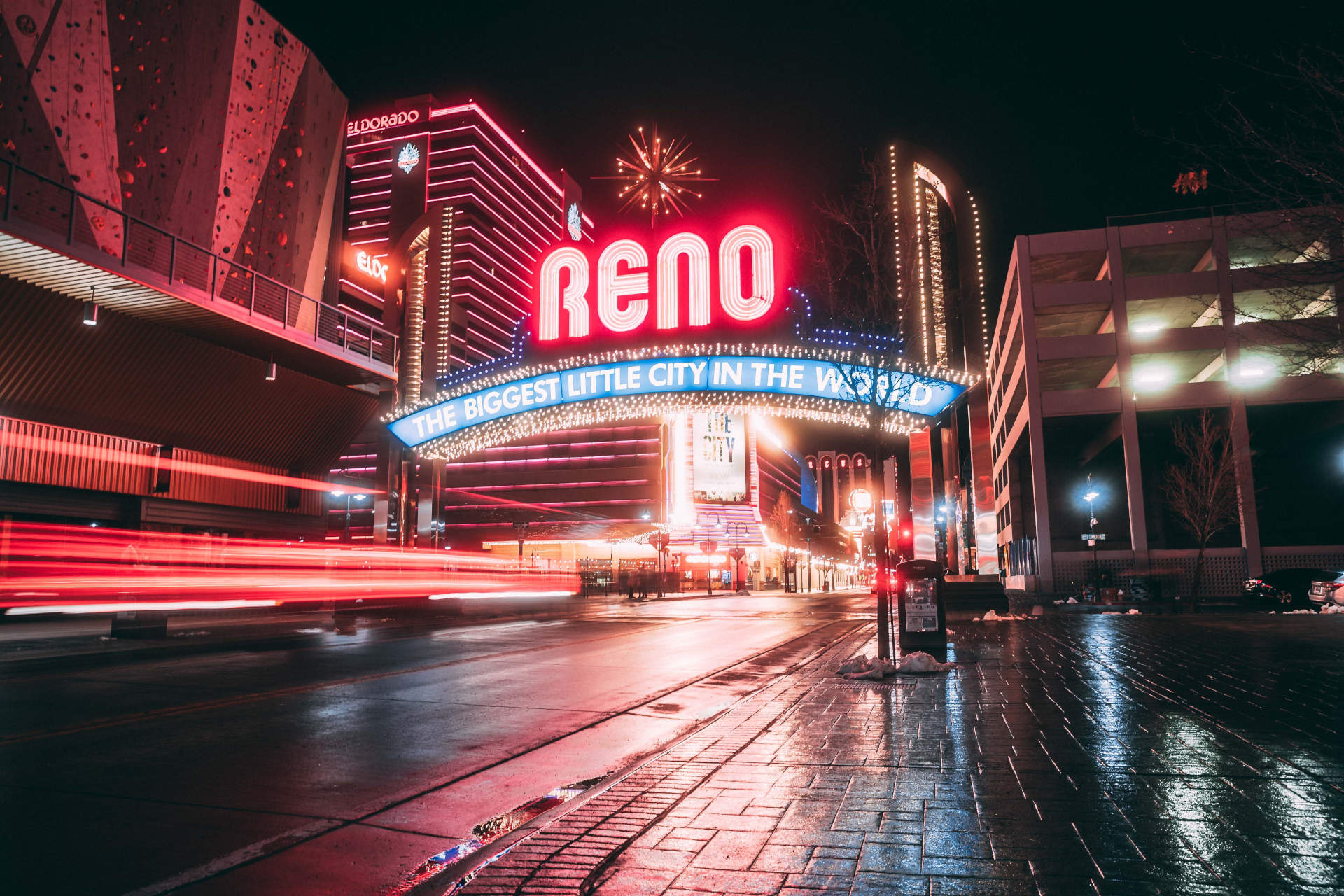 Reno Arch, downtown Reno, Nevada