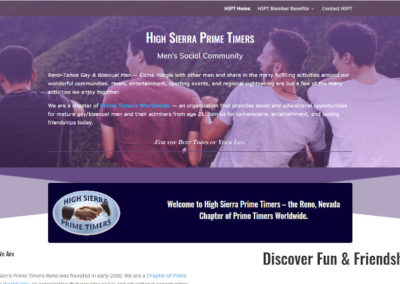Large Screenshot website design by CharleyBlue Designs
