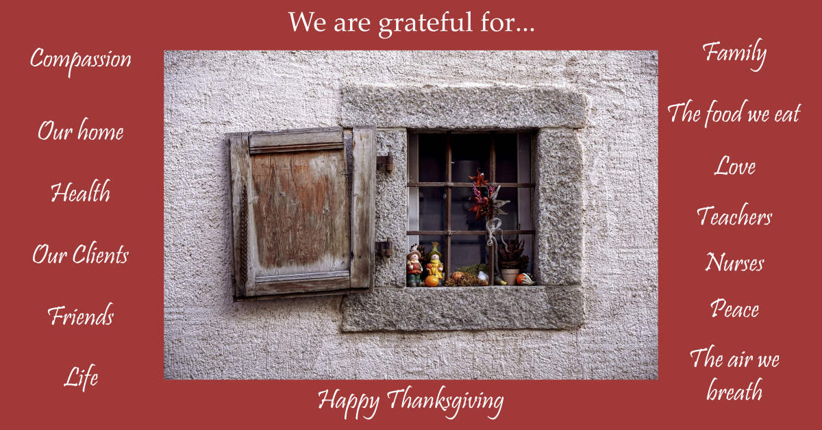 Grateful Thanksgiving wishes