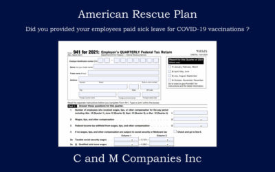 American Rescue Plan Tax Credits