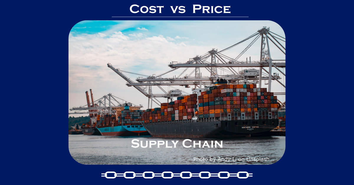 cost vs. price